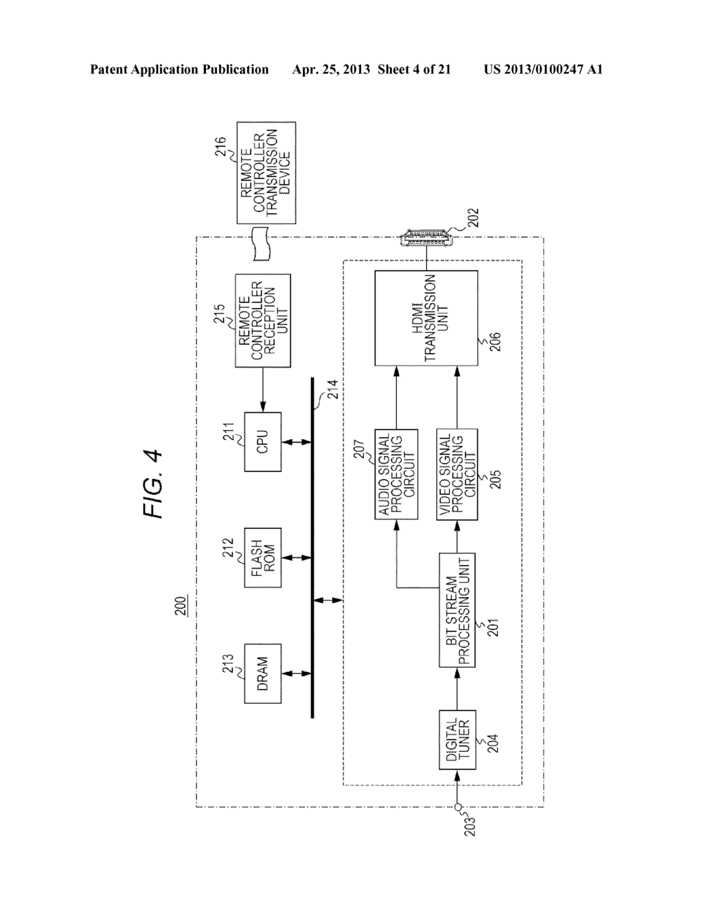 IMAGE DATA TRANSMISSION APPARATUS, CONTROL METHOD FOR IMAGE DATA     TRANSMISSION APPARATUS, IMAGE DATA TRANSMISSION METHOD, AND IMAGE DATA     RECEPTION APPARATUS - diagram, schematic, and image 05