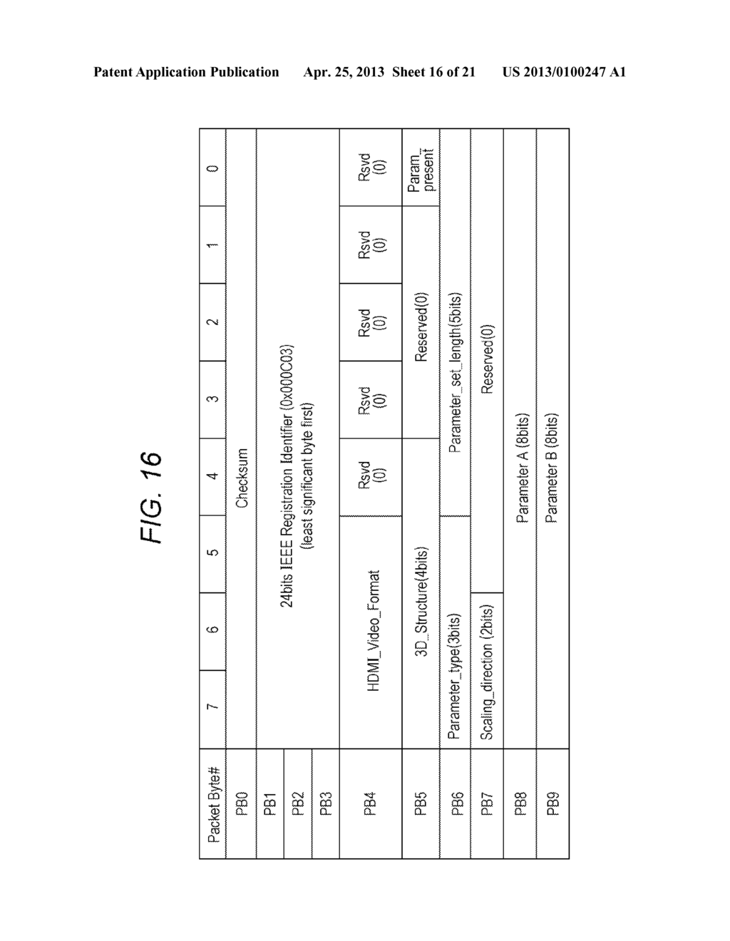 IMAGE DATA TRANSMISSION APPARATUS, CONTROL METHOD FOR IMAGE DATA     TRANSMISSION APPARATUS, IMAGE DATA TRANSMISSION METHOD, AND IMAGE DATA     RECEPTION APPARATUS - diagram, schematic, and image 17