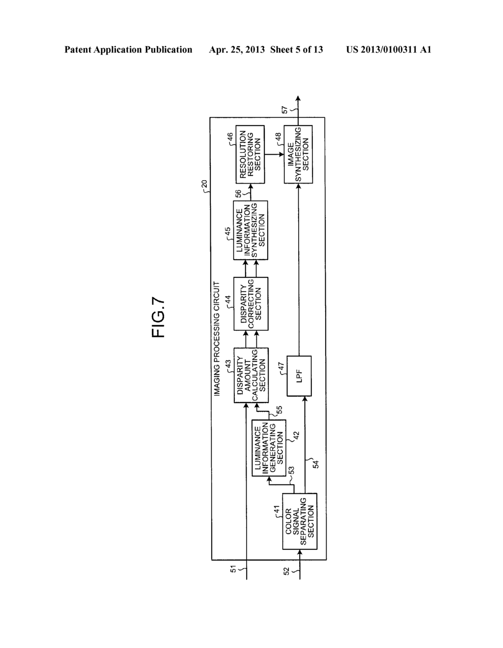 SOLID-STATE IMAGING DEVICE, CAMERA MODULE, AND FOCUS ADJUSTMENT METHOD OF     CAMERA MODULE - diagram, schematic, and image 06
