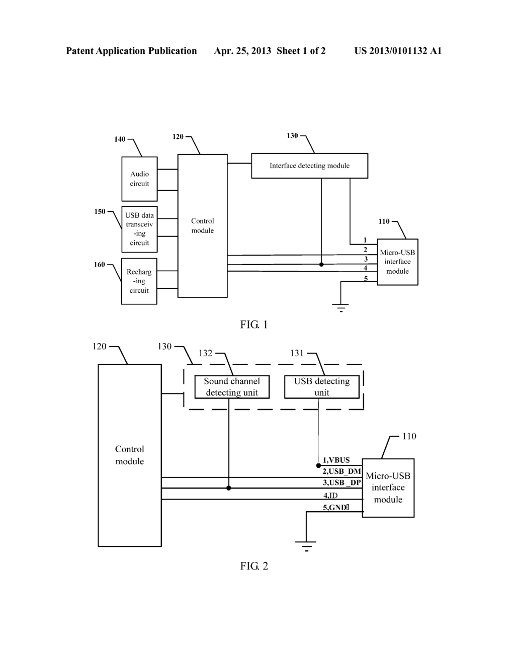 Method And Device For Earphone Usb To Share Micro Interface Schematic Diagram Image 02