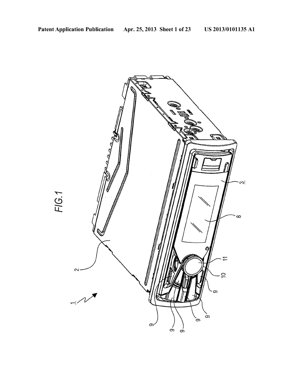 TRAY MOVING MECHANISM AND IN-VEHICLE AUDIO APPARATUS - diagram, schematic, and image 02