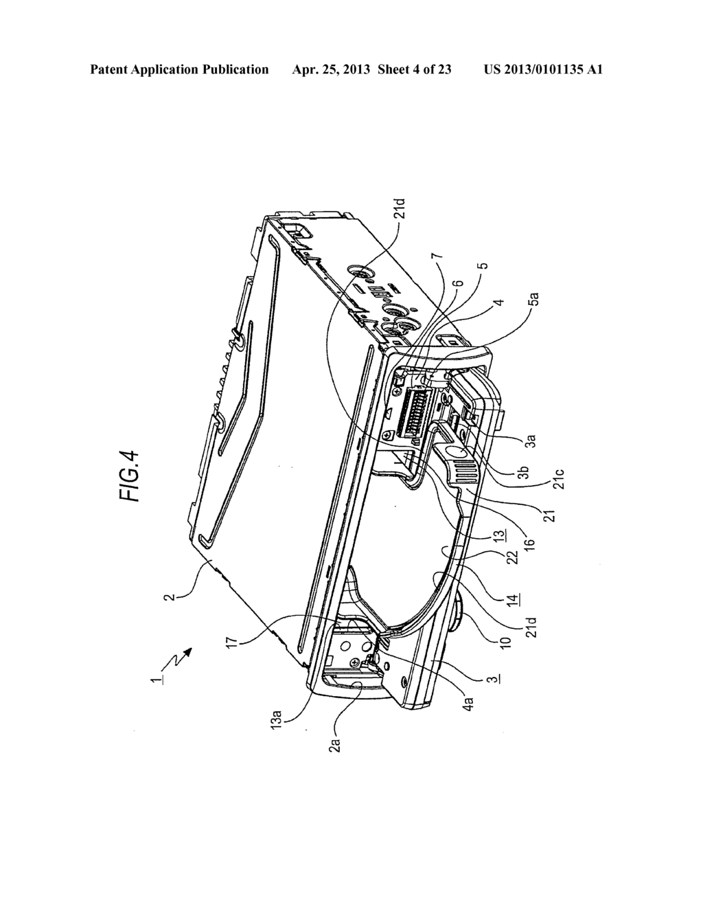 TRAY MOVING MECHANISM AND IN-VEHICLE AUDIO APPARATUS - diagram, schematic, and image 05