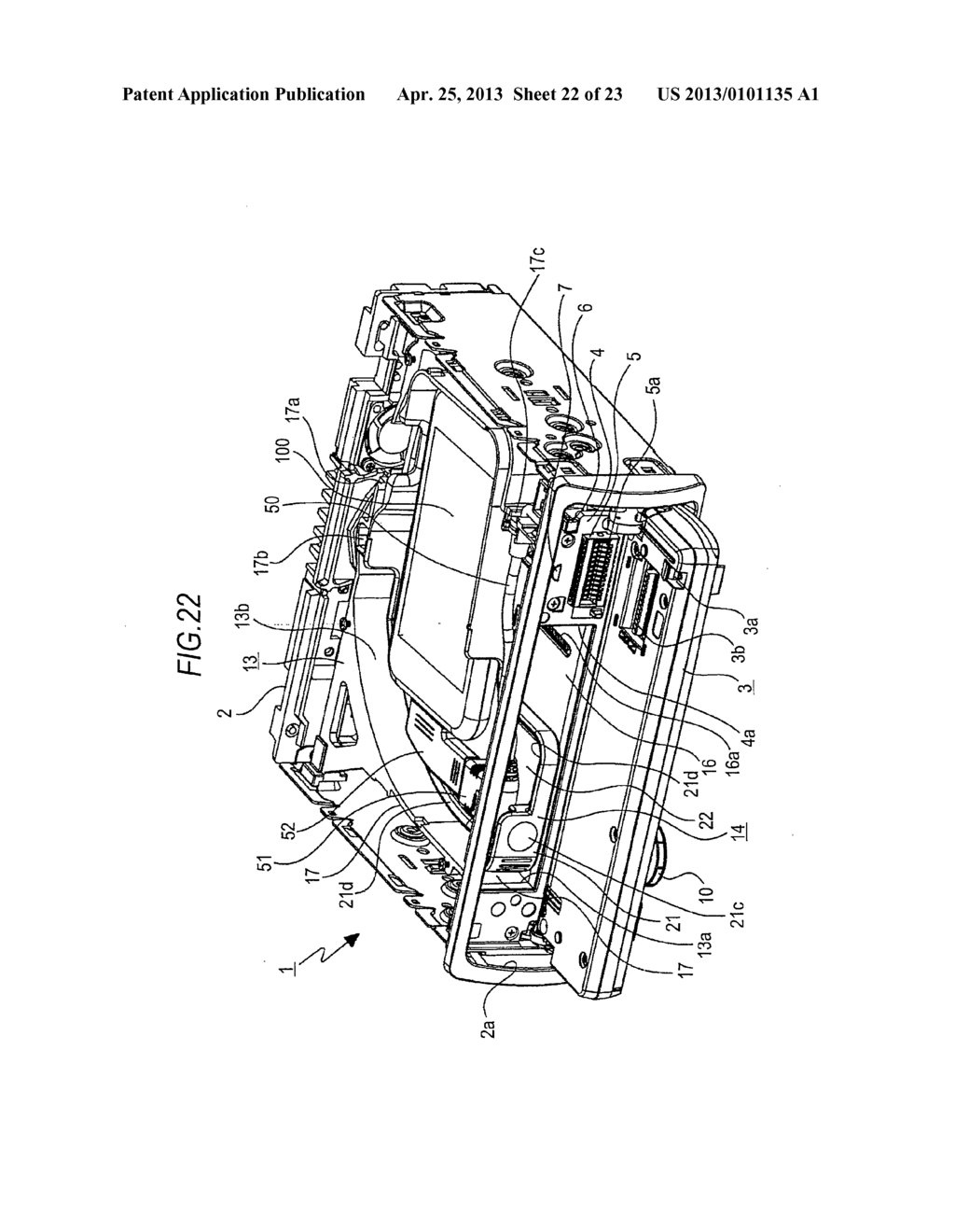 TRAY MOVING MECHANISM AND IN-VEHICLE AUDIO APPARATUS - diagram, schematic, and image 23