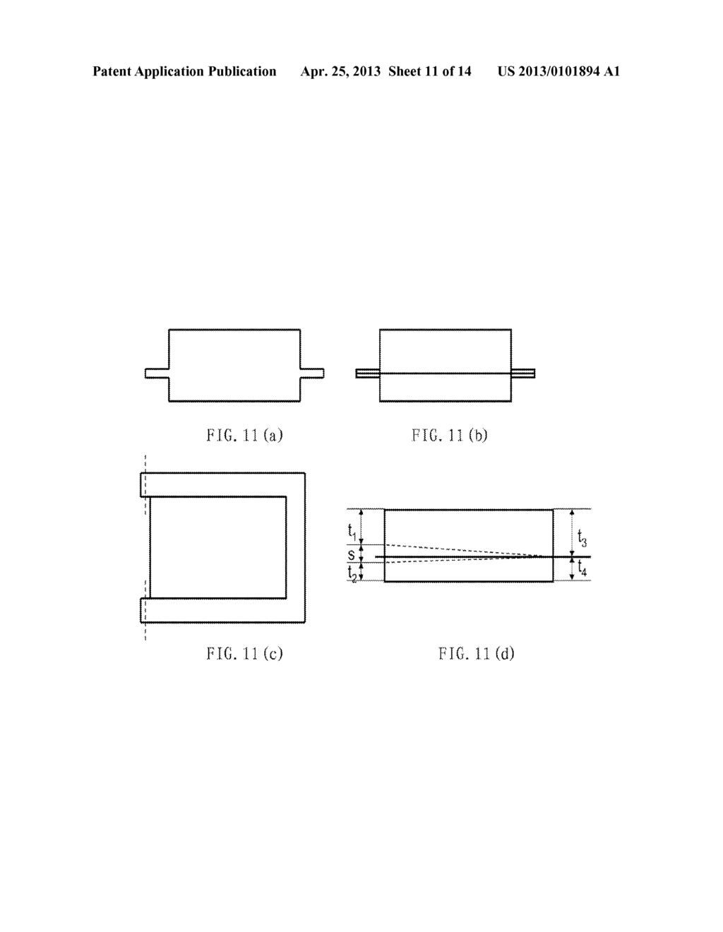 BATTERY, METHOD OF FORMING A BATTERY CELL CONTAINER, AND ELECTRONIC DEVICE - diagram, schematic, and image 12