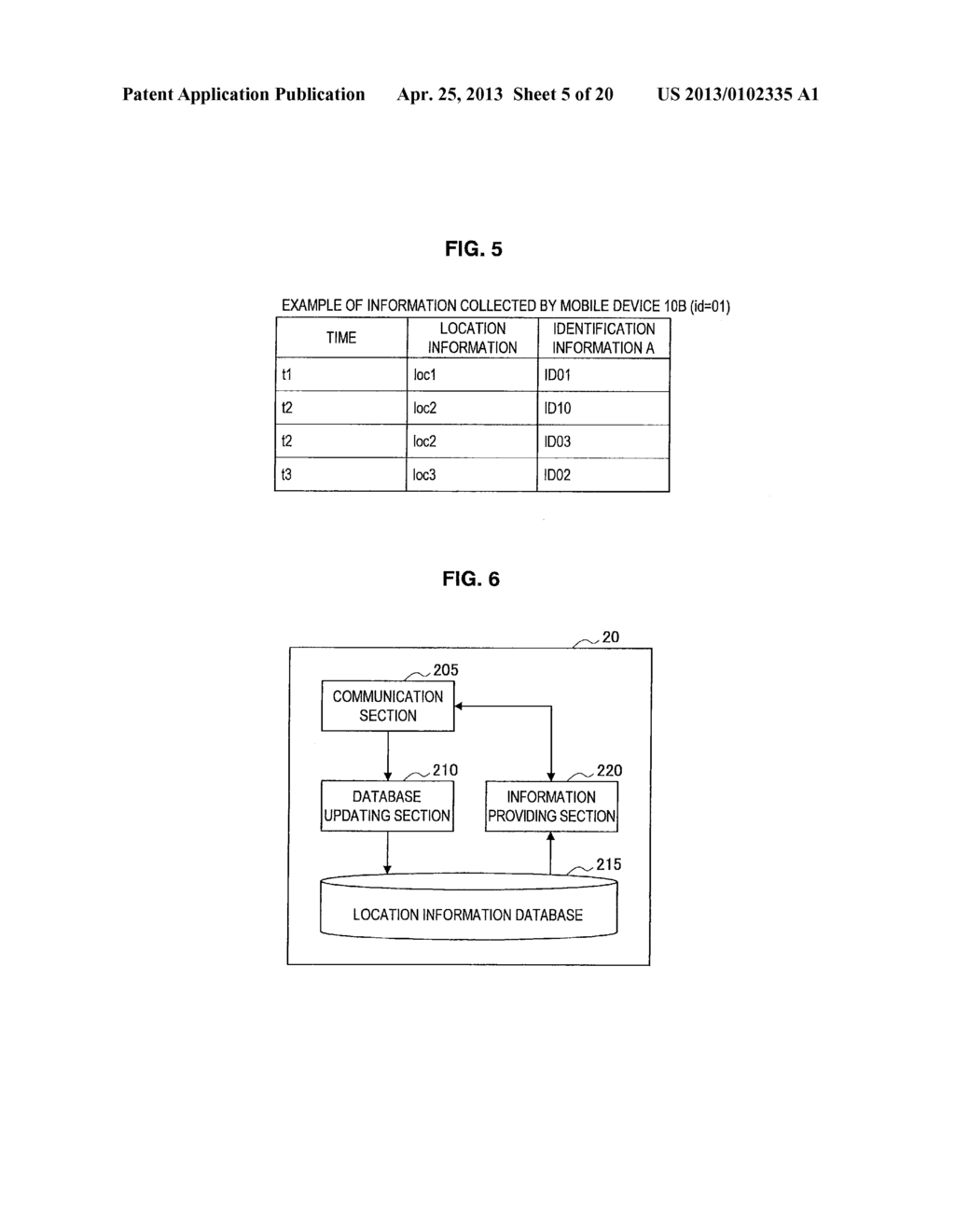MOBILE DEVICE, INFORMATION PROCESSING DEVICE, LOCATION INFORMATION     ACQUISITION METHOD, LOCATION INFORMATION ACQUISITION SYSTEM, AND PROGRAM - diagram, schematic, and image 06