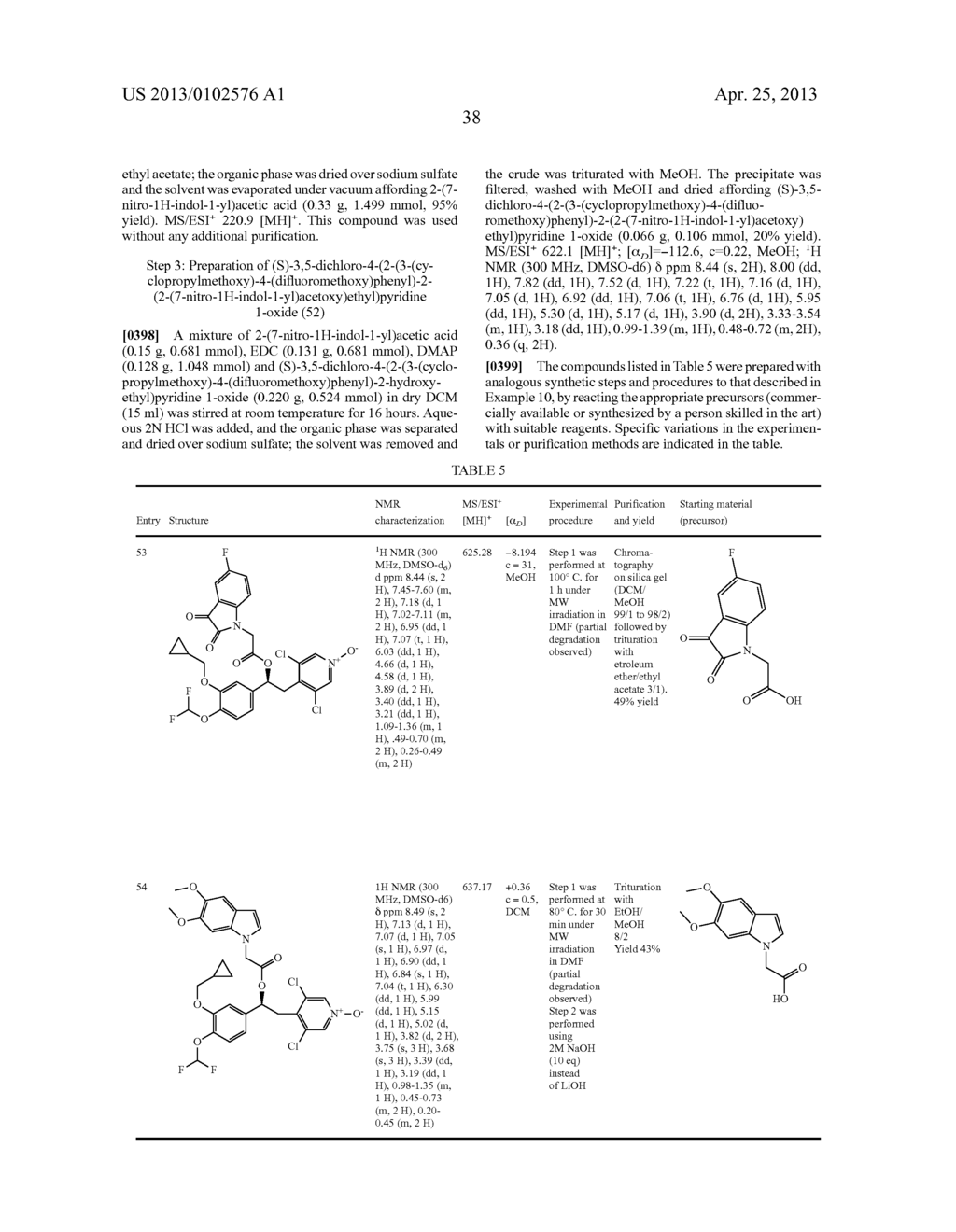 DERIVATIVES OF 1-PHENYL-2-PYRIDINYL ALKYL ALCOHOLS AS PHOSPHODIESTERASE     INHIBITORS - diagram, schematic, and image 39