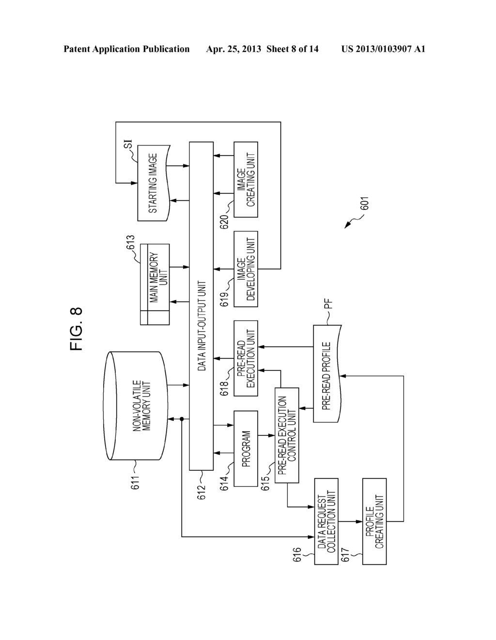 MEMORY MANAGEMENT DEVICE, MEMORY MANAGEMENT METHOD, CONTROL PROGRAM, AND     RECORDING MEDIUM - diagram, schematic, and image 09