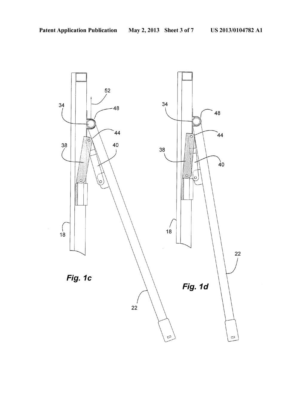 LEG LOCKING AND FOLDING MECHANISM FOR FOLDING TABLE - diagram, schematic,  and image 04Patents