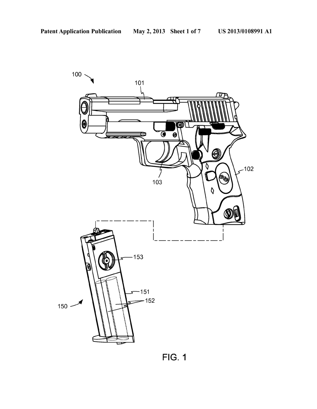 Magazine for simulated tetherless pistols with lockback diagram magazine for simulated tetherless pistols with lockback diagram schematic and image 02 ccuart Image collections