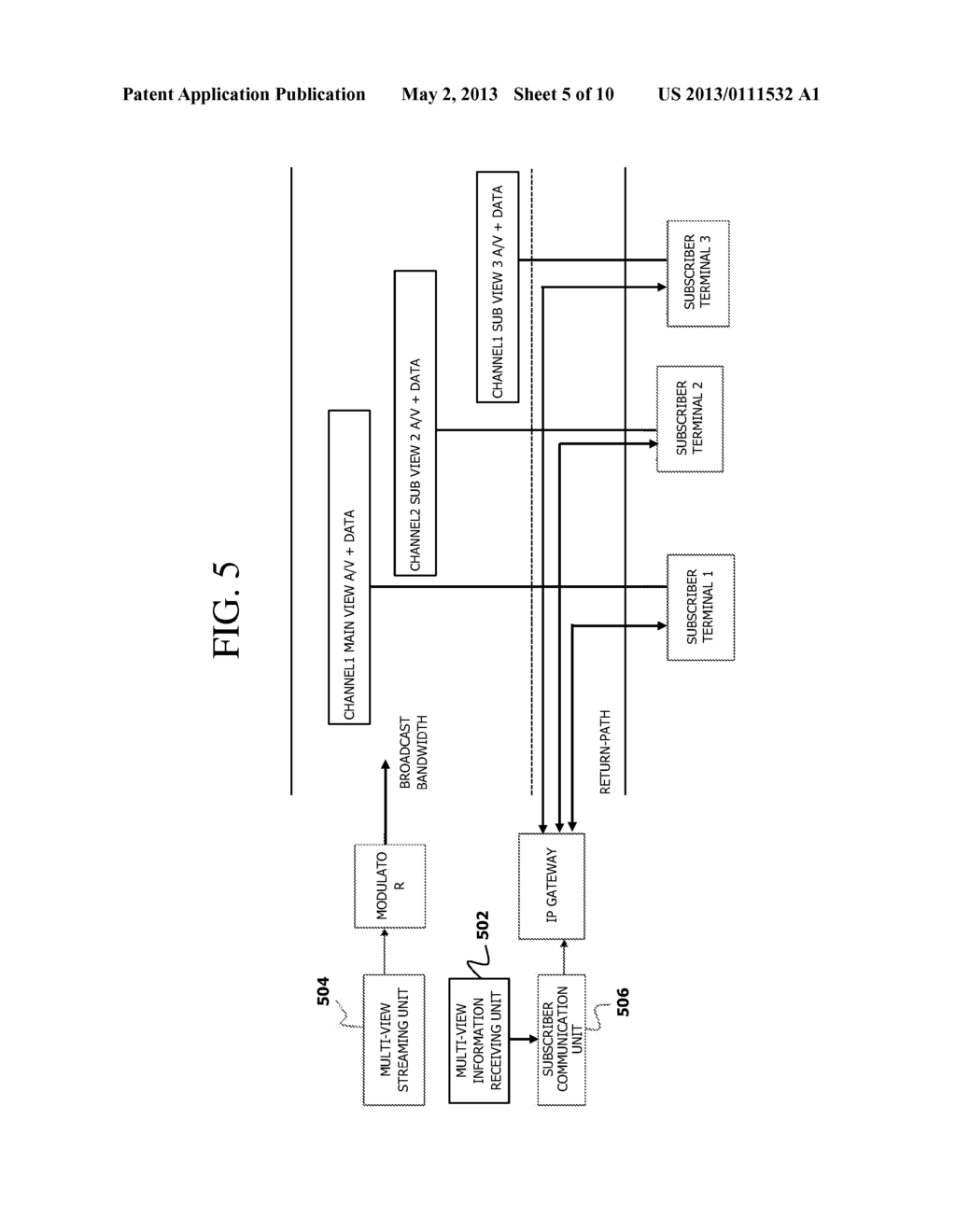 APPARATUS AND METHODS FOR TRANSMITTING MULTI-VIEW CONTENTS - diagram, schematic, and image 06