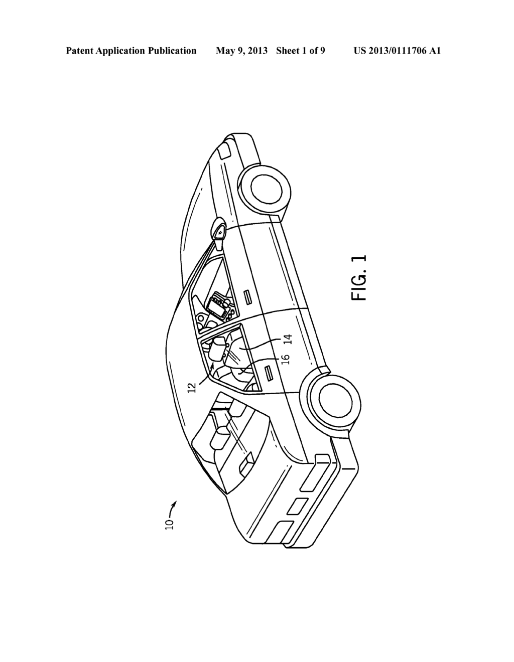HINGE ASSEMBLY FOR VEHICLE INTERIOR TRIM COMPONENT - diagram, schematic, and image 02