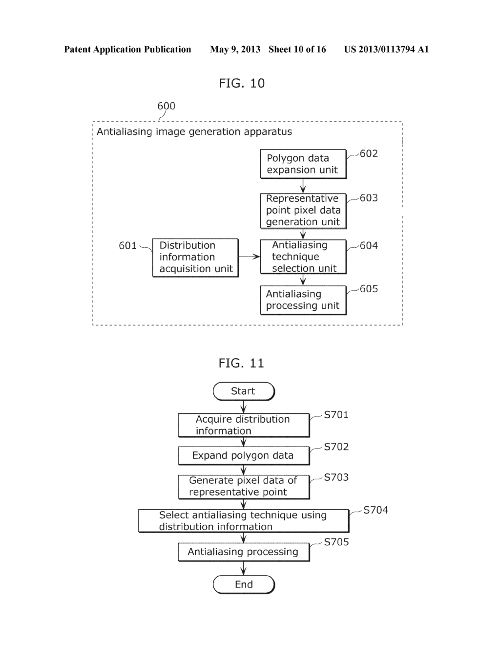 ANTIALIASING IMAGE GENERATION APPARATUS AND ANTIALIASING IMAGE GENERATION     METHOD - diagram, schematic, and image 11