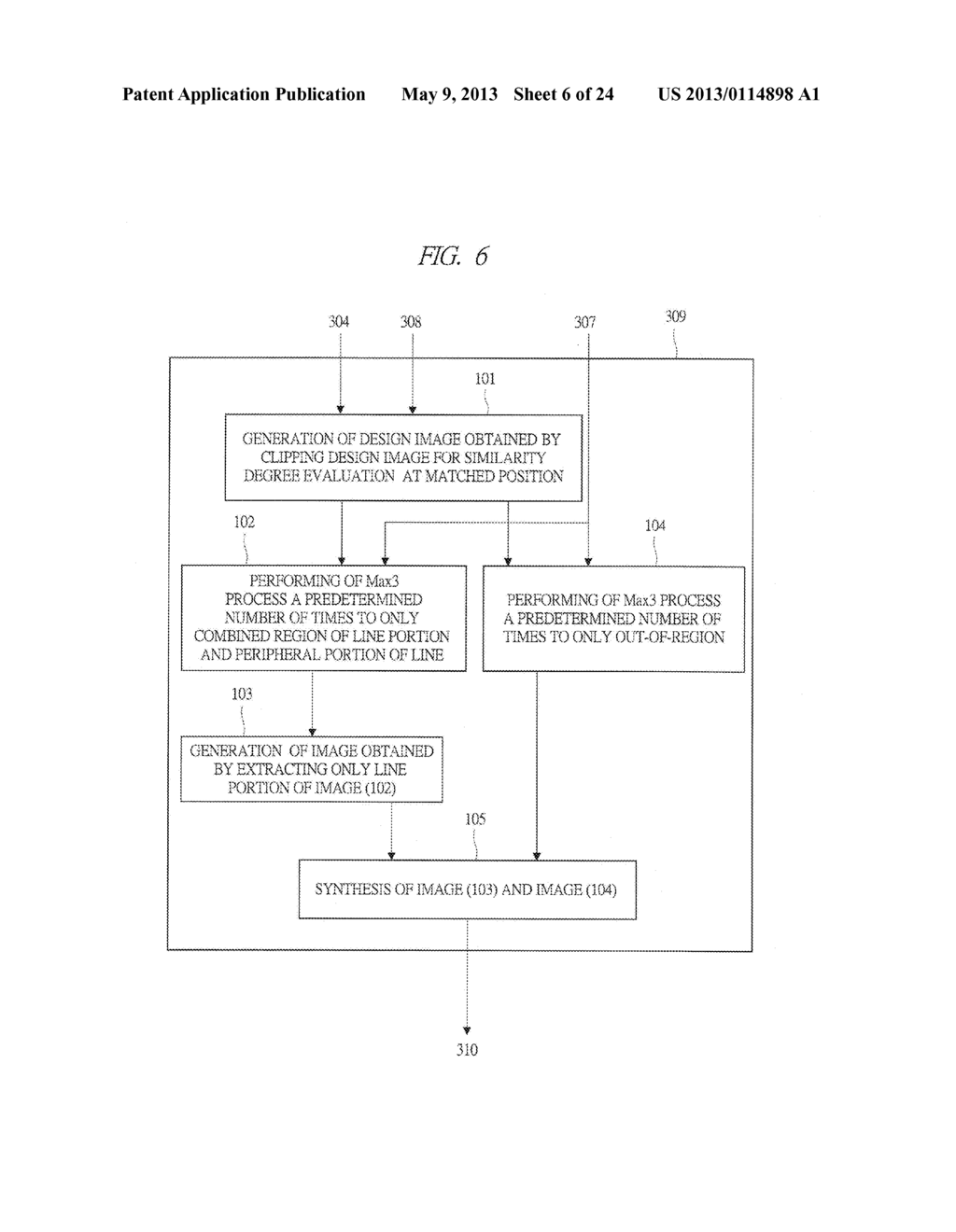 TEMPLATE MATCHING PROCESSING DEVICE AND TEMPLATE MATCHING PROCESSING ...