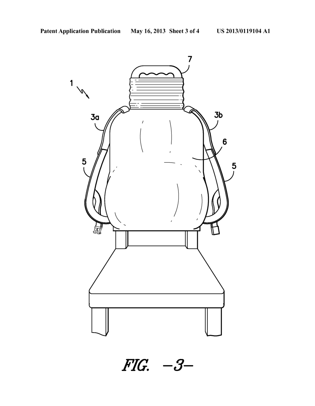 Ergonomic Backpack - diagram, schematic, and image 04