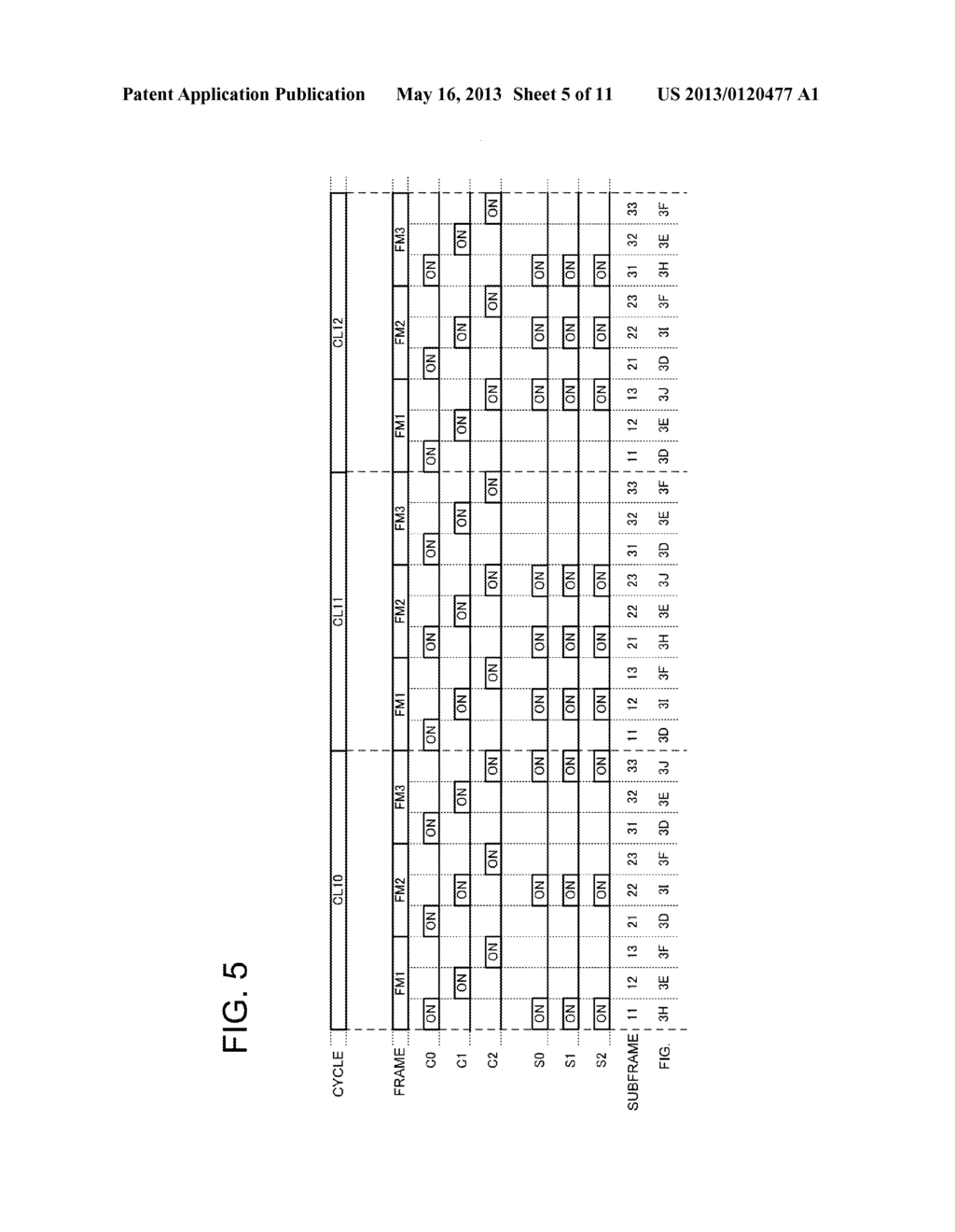 DISPLAY APPARATUS LIGHT EMISSION CONTROL METHOD AND DISPLAY UNIT - diagram, schematic, and image 06