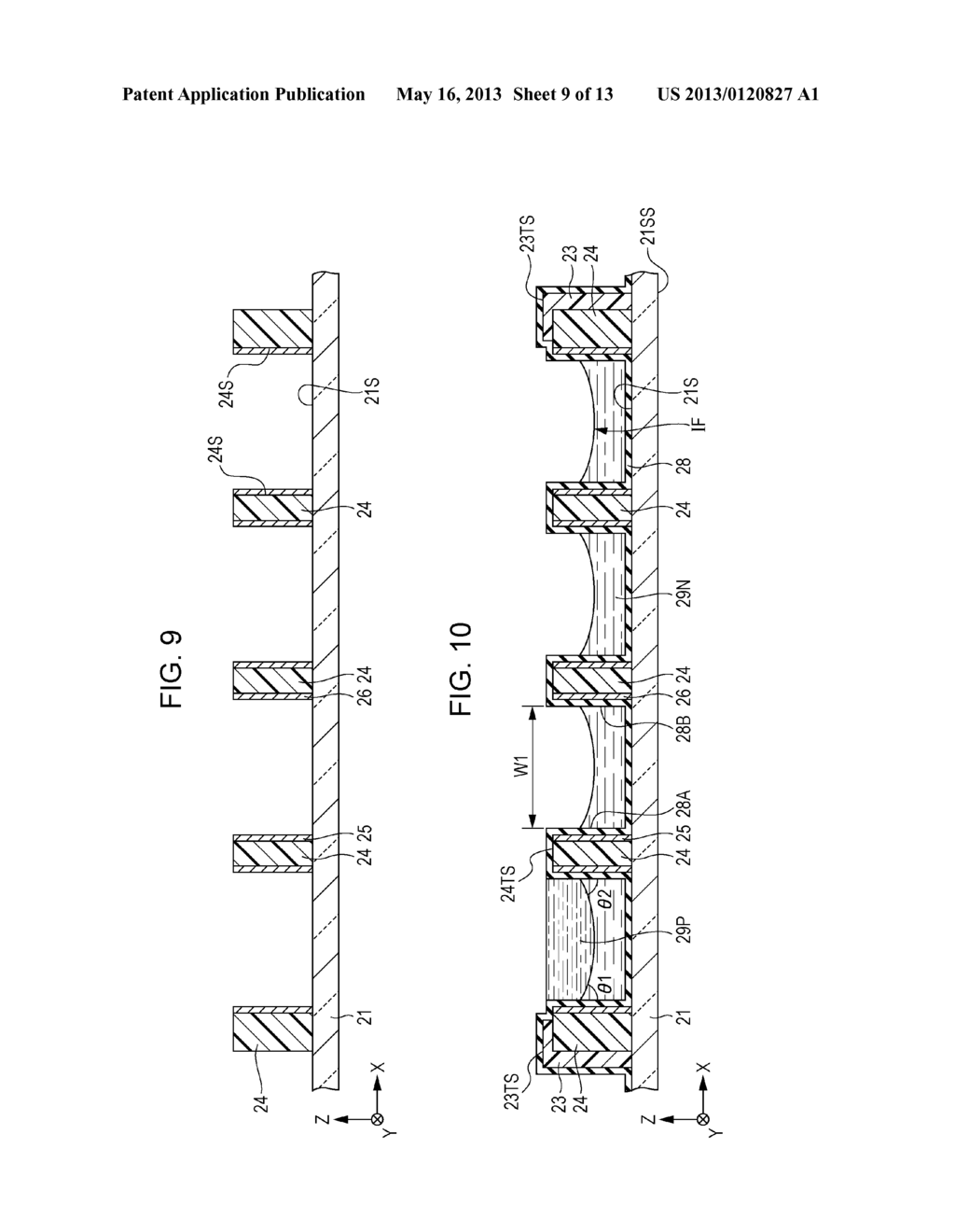 OPTICAL ELEMENT ARRAY, METHOD OF FORMING OPTICAL ELEMENT ARRAY, DISPLAY     DEVICE AND ELECTRONIC APPARATUS - diagram, schematic, and image 10