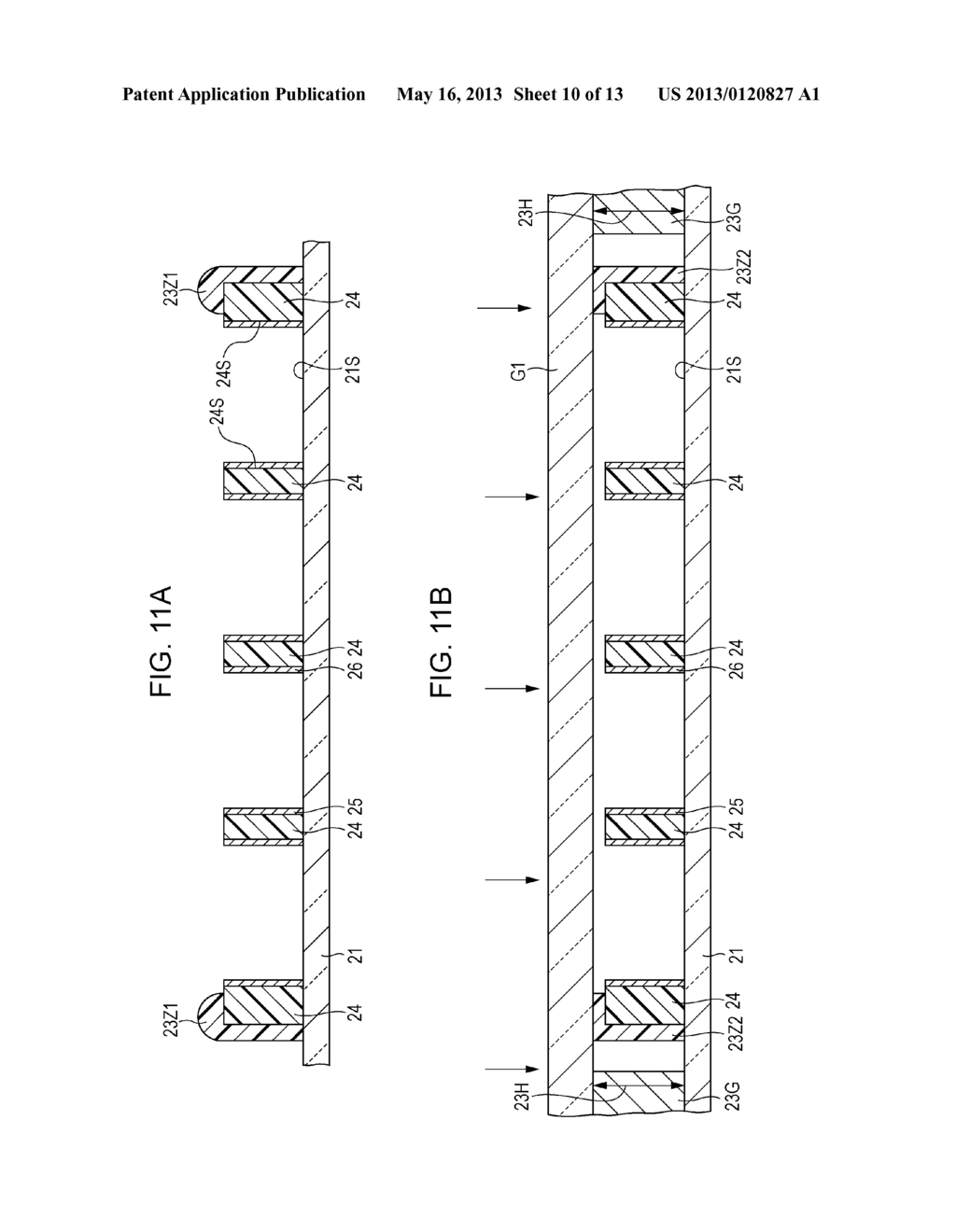 OPTICAL ELEMENT ARRAY, METHOD OF FORMING OPTICAL ELEMENT ARRAY, DISPLAY     DEVICE AND ELECTRONIC APPARATUS - diagram, schematic, and image 11