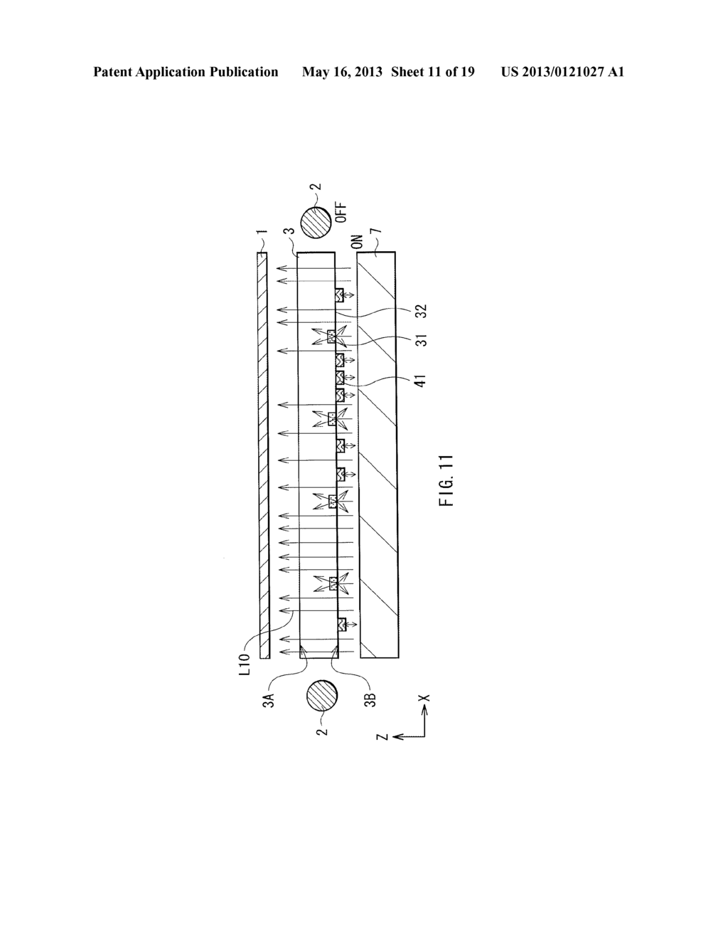 LIGHT SOURCE DEVICE, DISPLAY DEVICE, AND ELECTRONIC APPARATUS - diagram, schematic, and image 12