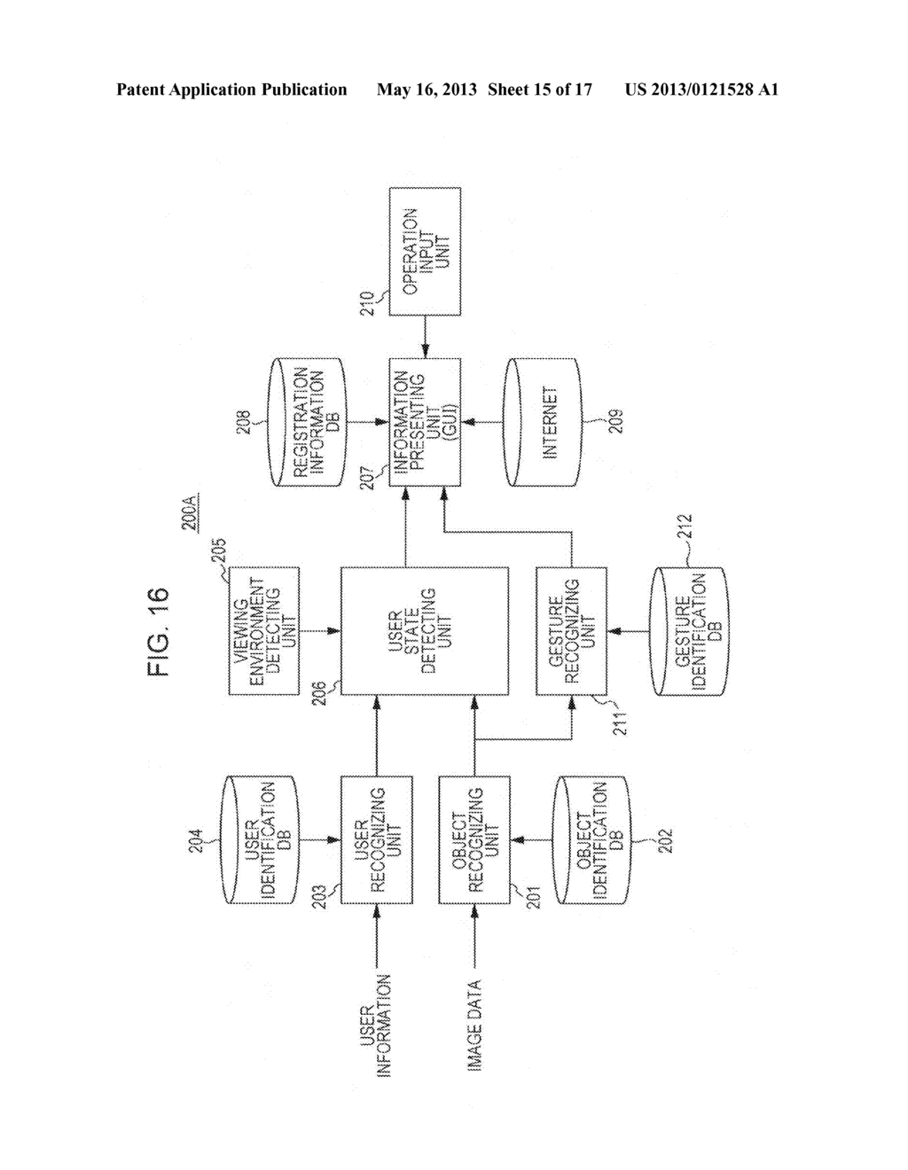 INFORMATION PRESENTATION DEVICE, INFORMATION PRESENTATION METHOD,     INFORMATION PRESENTATION SYSTEM, INFORMATION REGISTRATION DEVICE,     INFORMATION REGISTRATION METHOD, INFORMATION REGISTRATION SYSTEM, AND     PROGRAM - diagram, schematic, and image 16