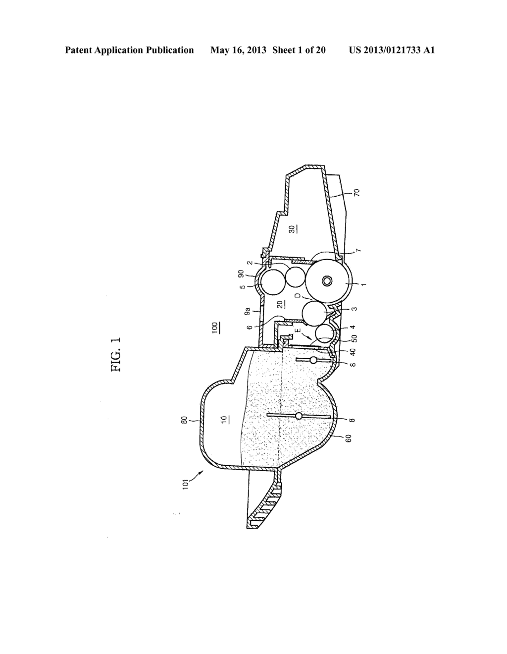 DEVELOPING DEVICE AND IMAGE FORMING APPARATUS USING THE SAME - diagram, schematic, and image 02