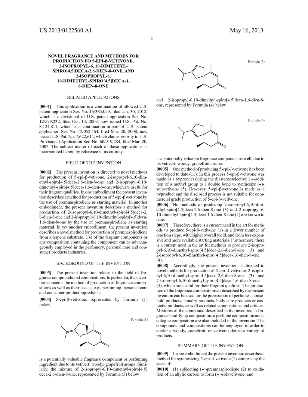 Novel fragrance and methods for production fo 5-epi- -vetivone,     2-isopropyl-6, 10-dimethyl-spiro[4.5]deca-2,6-dien-8-one, and     2-isopropyl-6, 10-dimethyl-spiro[4.5]deca-1, 6-dien-8-one - diagram, schematic, and image 08