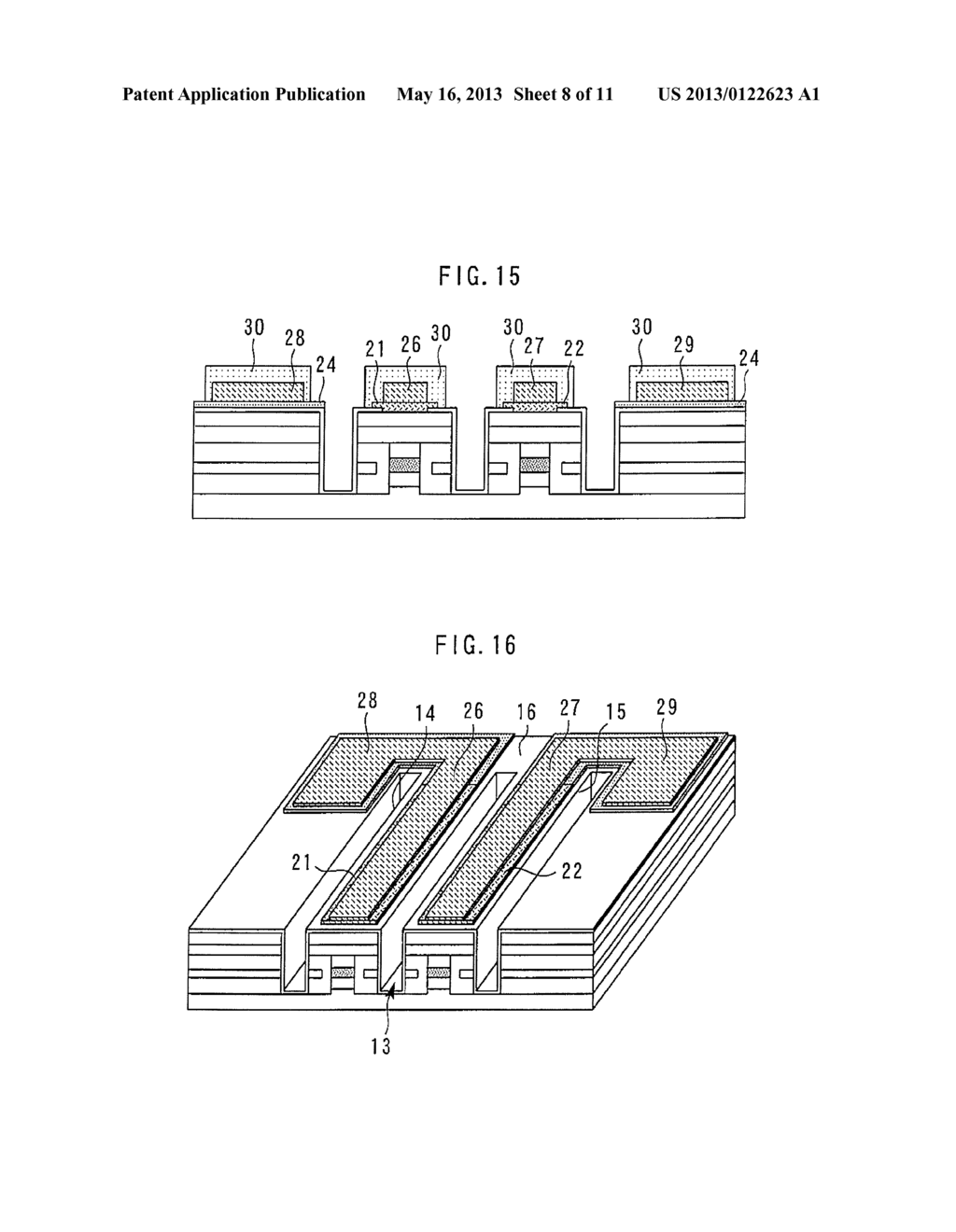 METHOD OF MANUFACTURING OPTICAL SEMICONDUCTOR DEVICE - diagram, schematic, and image 09