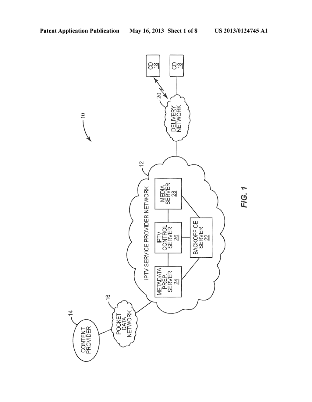 METADATA-DRIVEN BILERATAL INTERACTION BETWEEN AN IPTV CONTROL SERVER