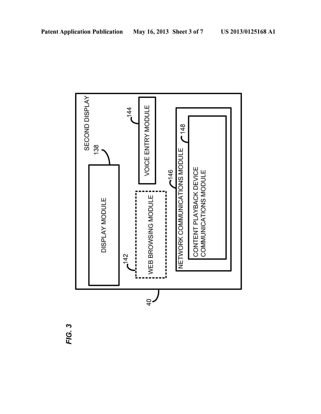 SYSTEM AND METHOD FOR VOICE DRIVEN CROSS SERVICE SEARCH USING SECOND     DISPLAY - diagram, schematic, and image 04