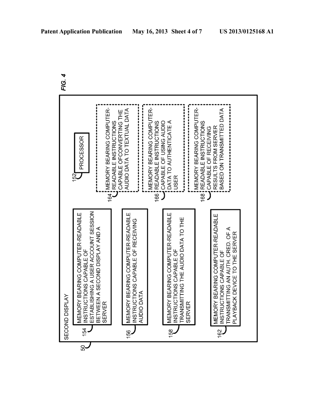 SYSTEM AND METHOD FOR VOICE DRIVEN CROSS SERVICE SEARCH USING SECOND     DISPLAY - diagram, schematic, and image 05