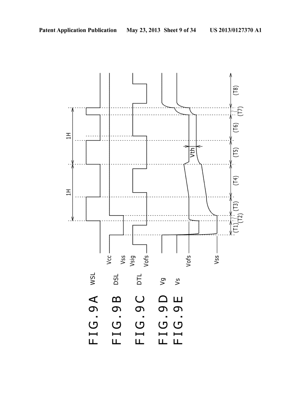 EL DISPLAY PANEL MODULE, EL DISPLAY PANEL, INTEGRATED CIRCUIT DEVICE,     ELECTRONIC APPARATUS AND DRIVING CONTROLLING  METHOD - diagram, schematic, and image 10