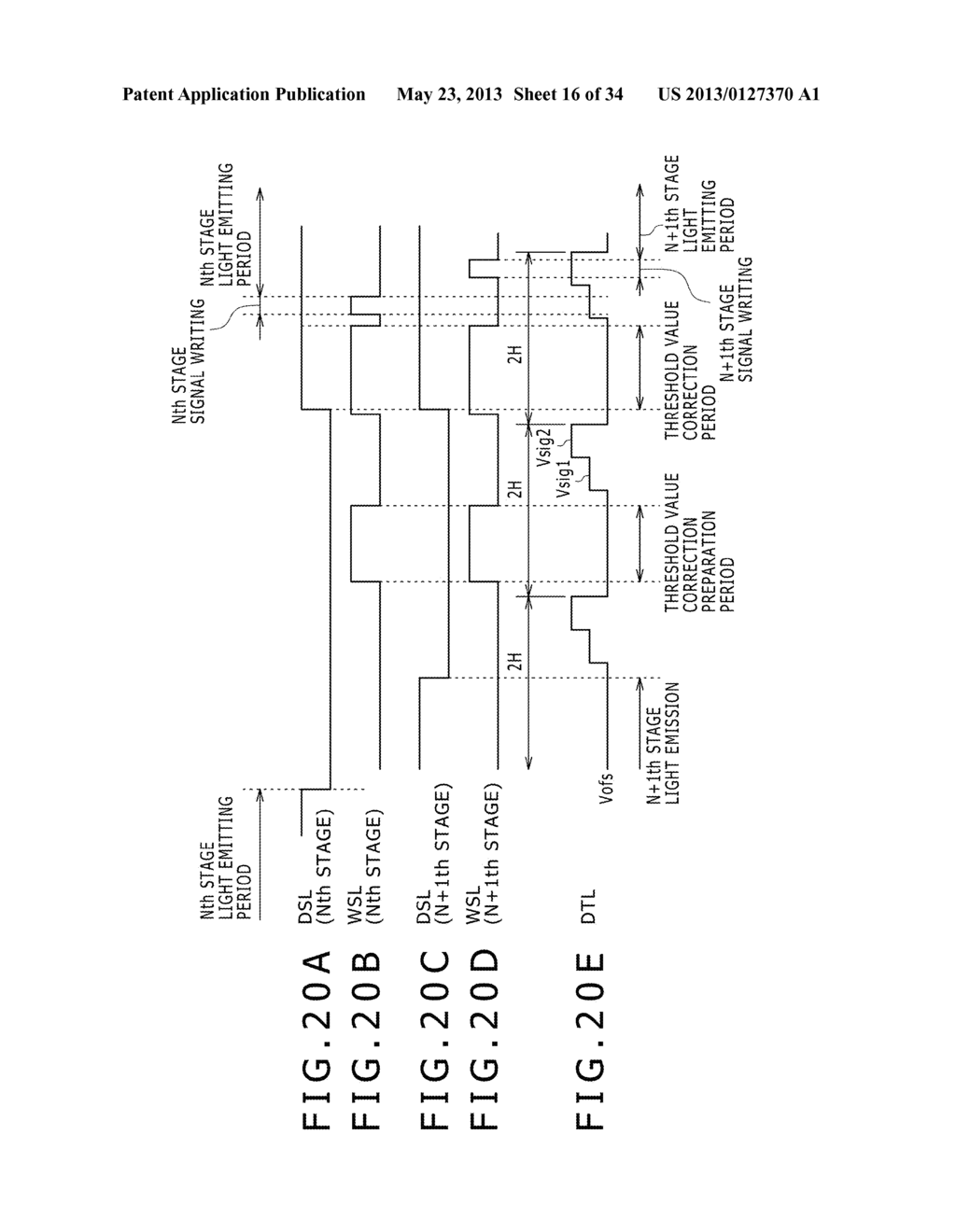 EL DISPLAY PANEL MODULE, EL DISPLAY PANEL, INTEGRATED CIRCUIT DEVICE,     ELECTRONIC APPARATUS AND DRIVING CONTROLLING  METHOD - diagram, schematic, and image 17