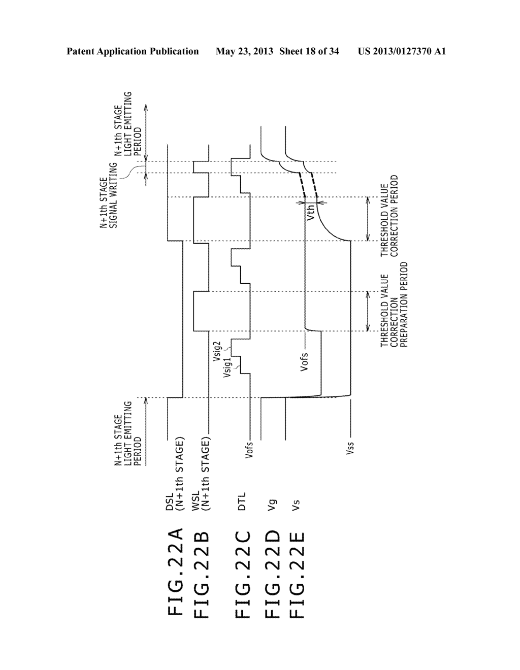 EL DISPLAY PANEL MODULE, EL DISPLAY PANEL, INTEGRATED CIRCUIT DEVICE,     ELECTRONIC APPARATUS AND DRIVING CONTROLLING  METHOD - diagram, schematic, and image 19
