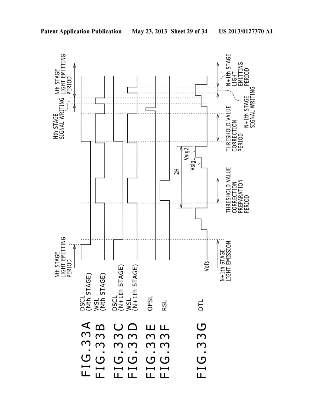 EL DISPLAY PANEL MODULE, EL DISPLAY PANEL, INTEGRATED CIRCUIT DEVICE,     ELECTRONIC APPARATUS AND DRIVING CONTROLLING  METHOD - diagram, schematic, and image 30