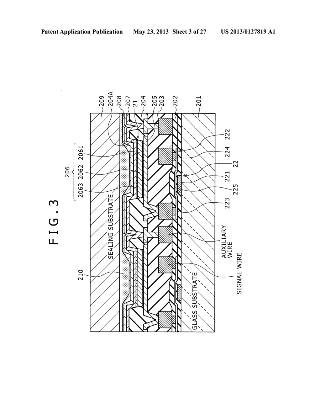 DISPLAY DEVICE, METHOD OF LAYING OUT WIRING IN DISPLAY DEVICE, AND     ELECTRONIC DEVICE - diagram, schematic, and image 04