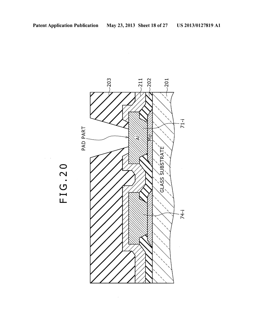 DISPLAY DEVICE, METHOD OF LAYING OUT WIRING IN DISPLAY DEVICE, AND     ELECTRONIC DEVICE - diagram, schematic, and image 19