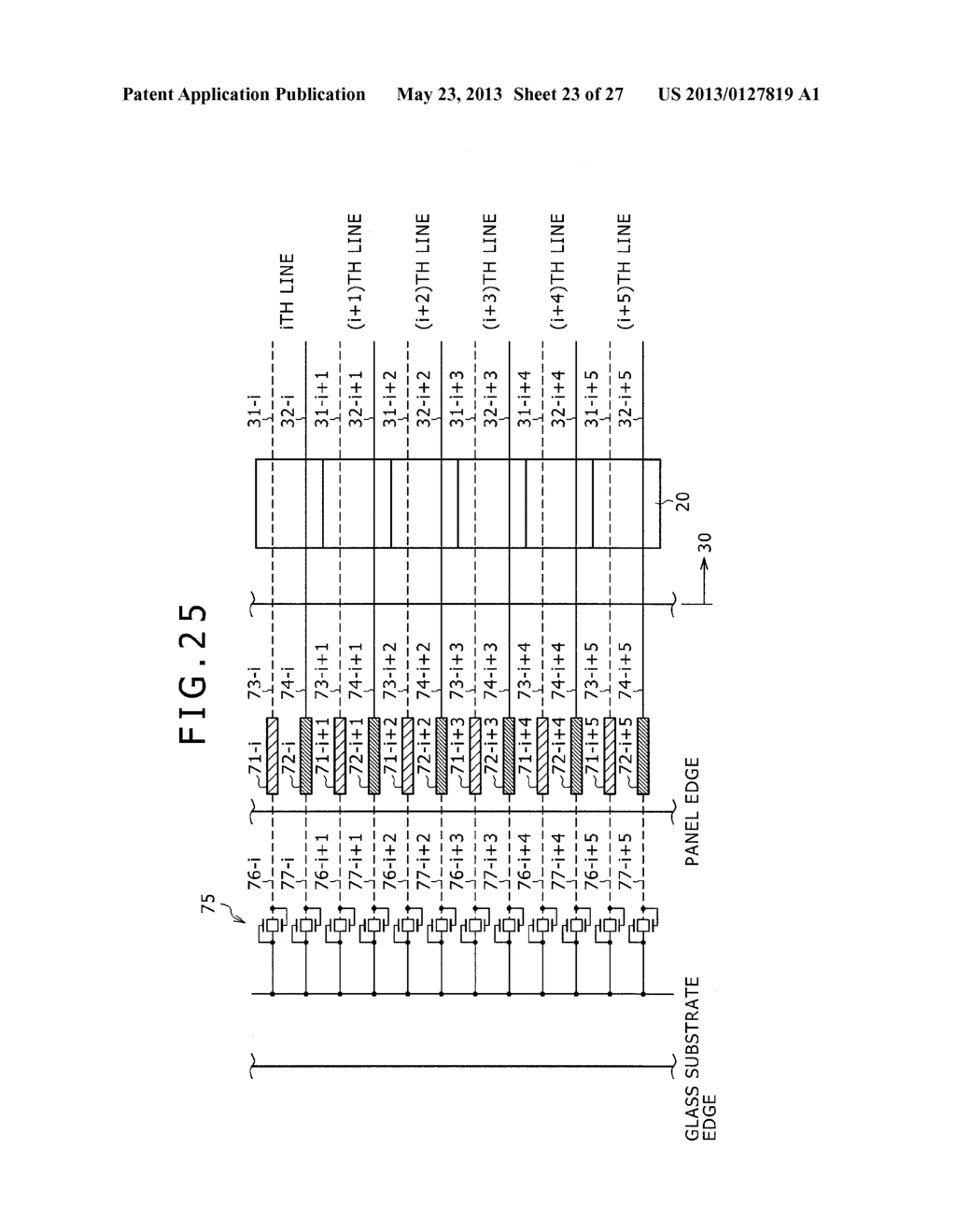 DISPLAY DEVICE, METHOD OF LAYING OUT WIRING IN DISPLAY DEVICE, AND     ELECTRONIC DEVICE - diagram, schematic, and image 24