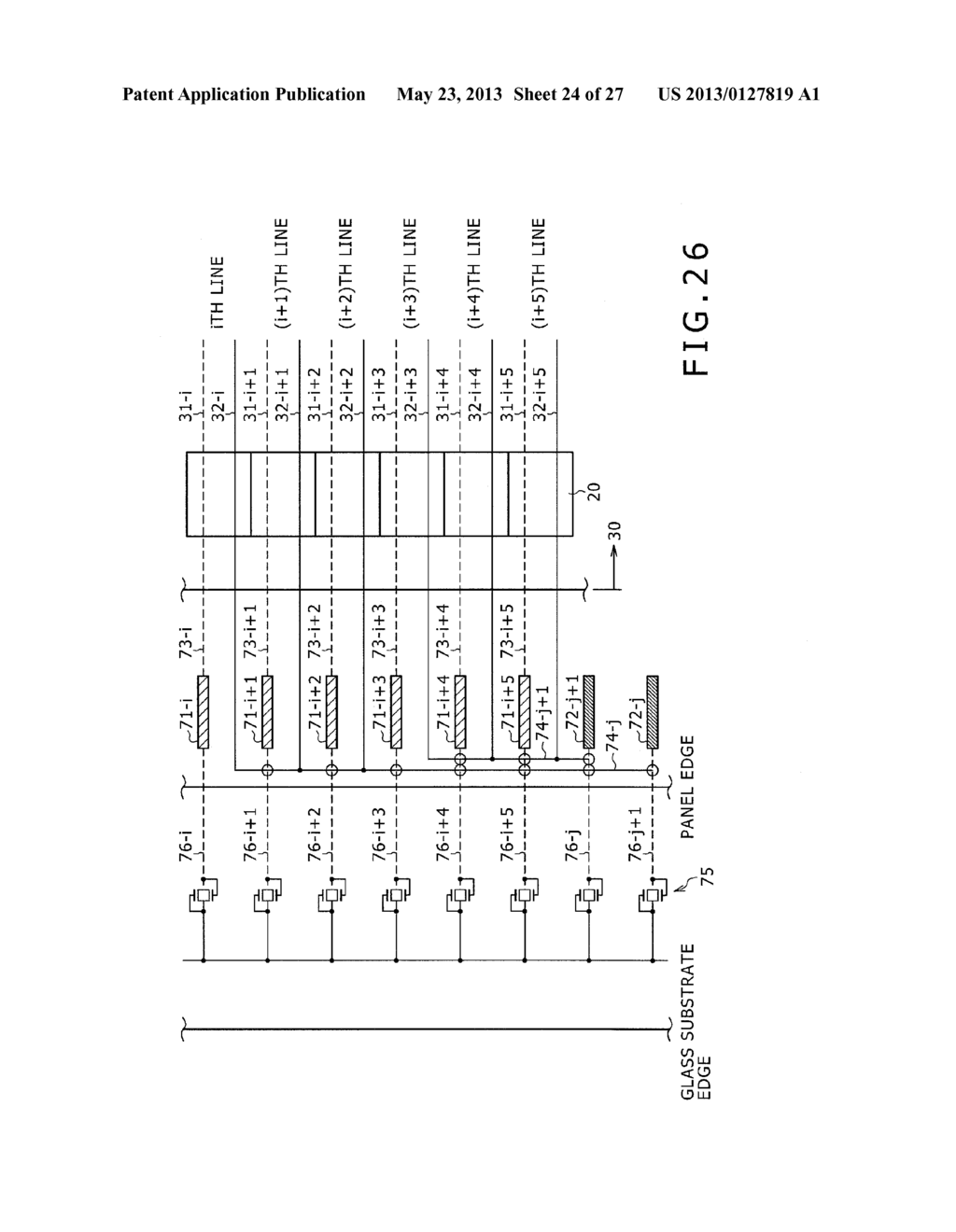 DISPLAY DEVICE, METHOD OF LAYING OUT WIRING IN DISPLAY DEVICE, AND     ELECTRONIC DEVICE - diagram, schematic, and image 25