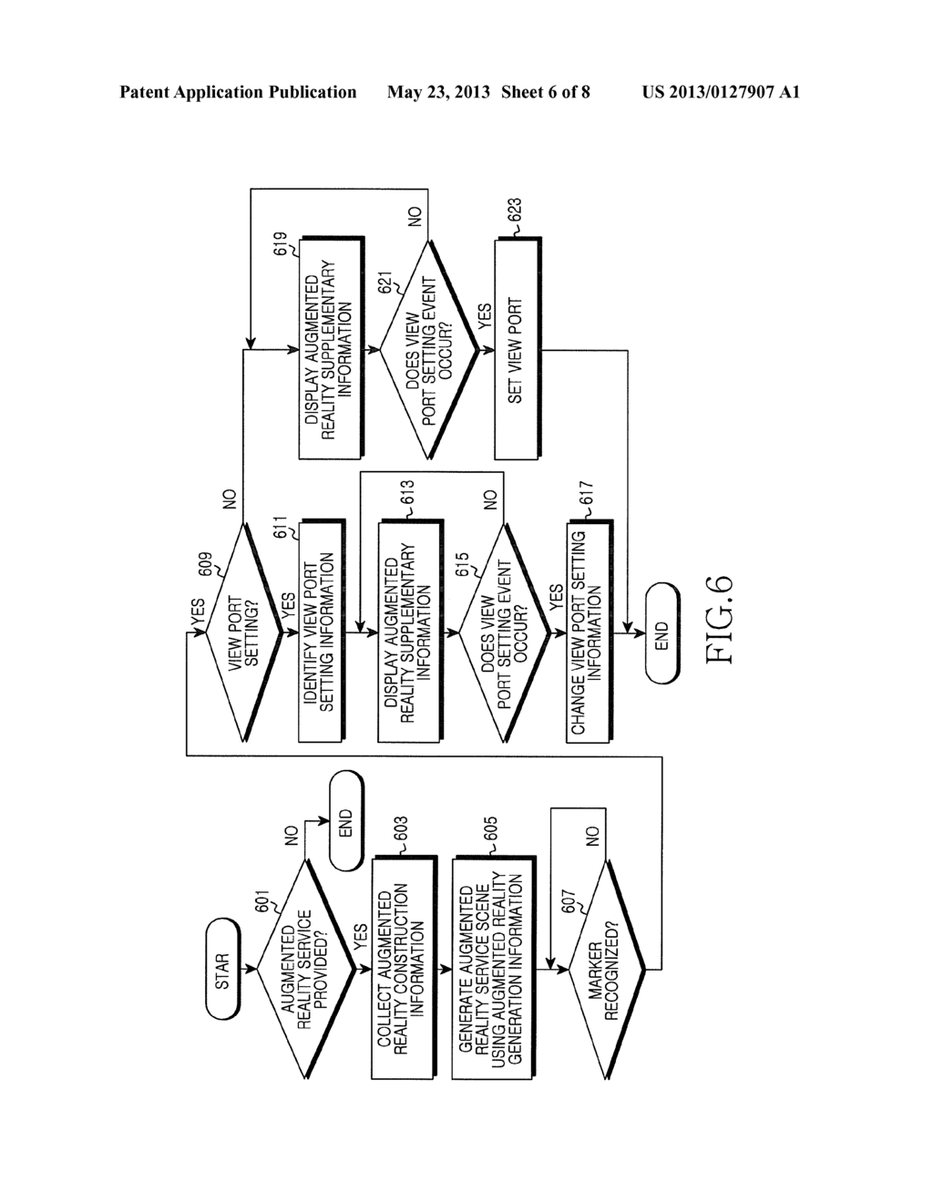 APPARATUS AND METHOD FOR PROVIDING AUGMENTED REALITY SERVICE FOR MOBILE     TERMINAL - diagram, schematic, and image 07