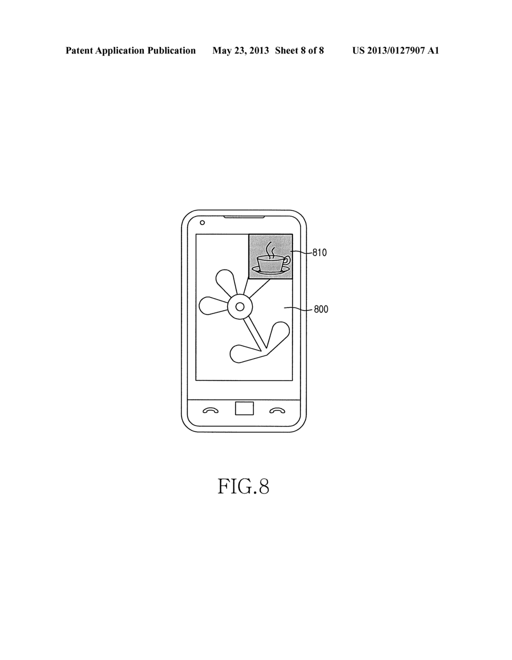 APPARATUS AND METHOD FOR PROVIDING AUGMENTED REALITY SERVICE FOR MOBILE     TERMINAL - diagram, schematic, and image 09