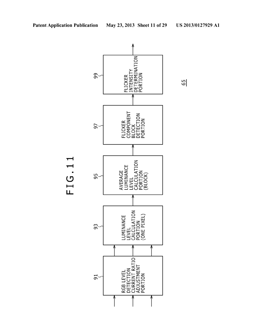 LIGHTING PERIOD SETTING METHOD, DISPLAY PANEL DRIVING METHOD, BACKLIGHT     DRIVING METHOD, LIGHTING CONDITION SETTING DEVICE, SEMICONDUCTOR DEVICE,     DISPLAY PANEL AND ELECTRONIC EQUIPMENT - diagram, schematic, and image 12