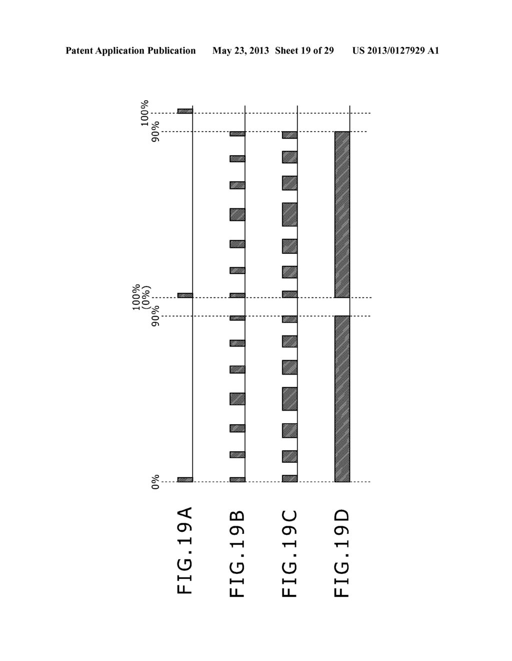 LIGHTING PERIOD SETTING METHOD, DISPLAY PANEL DRIVING METHOD, BACKLIGHT     DRIVING METHOD, LIGHTING CONDITION SETTING DEVICE, SEMICONDUCTOR DEVICE,     DISPLAY PANEL AND ELECTRONIC EQUIPMENT - diagram, schematic, and image 20