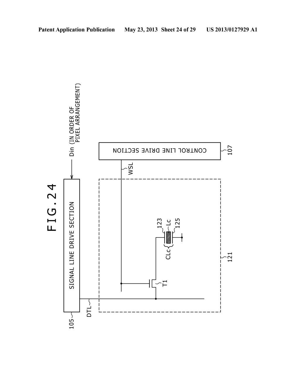 LIGHTING PERIOD SETTING METHOD, DISPLAY PANEL DRIVING METHOD, BACKLIGHT     DRIVING METHOD, LIGHTING CONDITION SETTING DEVICE, SEMICONDUCTOR DEVICE,     DISPLAY PANEL AND ELECTRONIC EQUIPMENT - diagram, schematic, and image 25