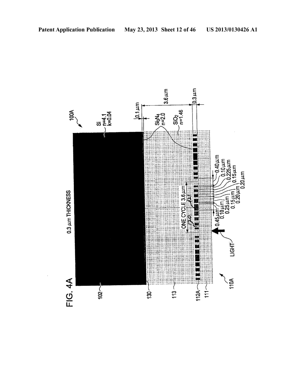 METHOD OF MANUFACTURING AN OPTICAL MEMBER HAVING STACKED HIGH AND LOW     REFRACTIVE INDEX LAYERS - diagram, schematic, and image 13