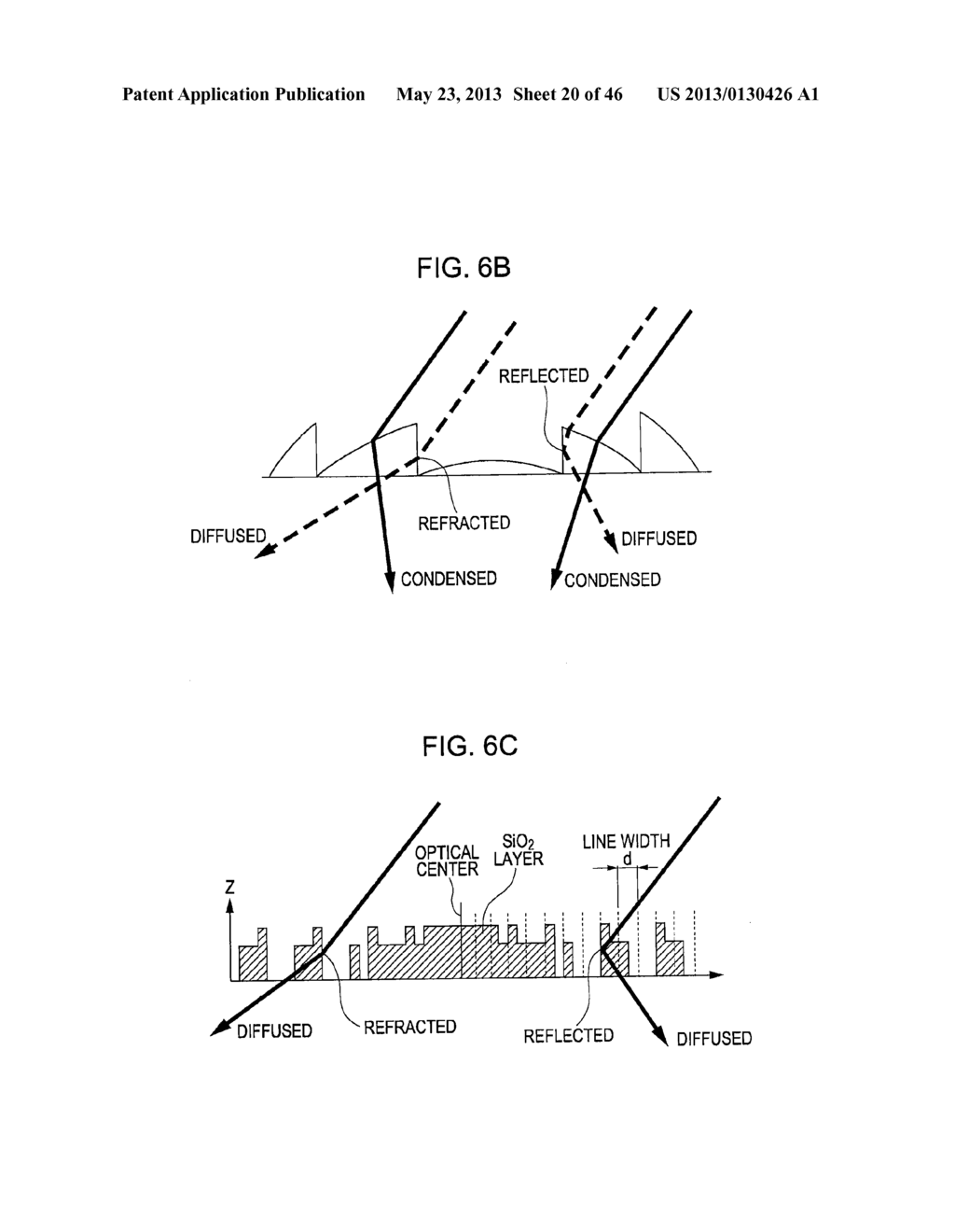 METHOD OF MANUFACTURING AN OPTICAL MEMBER HAVING STACKED HIGH AND LOW     REFRACTIVE INDEX LAYERS - diagram, schematic, and image 21