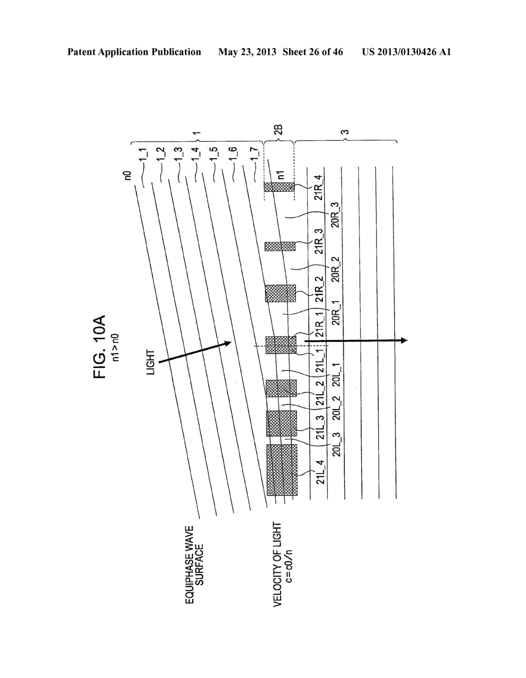 METHOD OF MANUFACTURING AN OPTICAL MEMBER HAVING STACKED HIGH AND LOW     REFRACTIVE INDEX LAYERS - diagram, schematic, and image 27