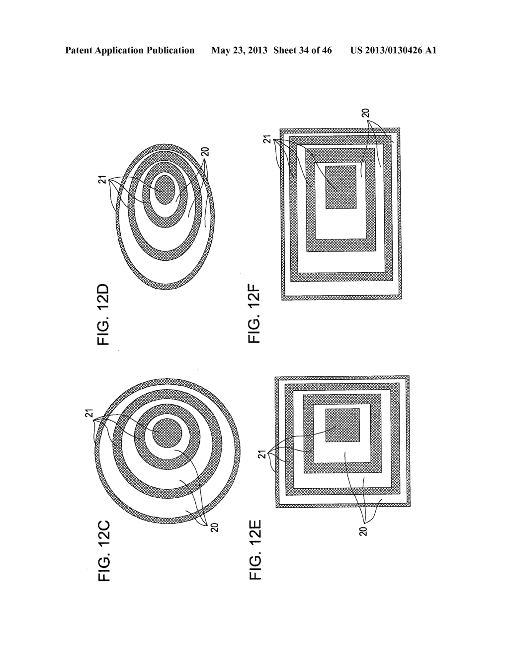 METHOD OF MANUFACTURING AN OPTICAL MEMBER HAVING STACKED HIGH AND LOW     REFRACTIVE INDEX LAYERS - diagram, schematic, and image 35
