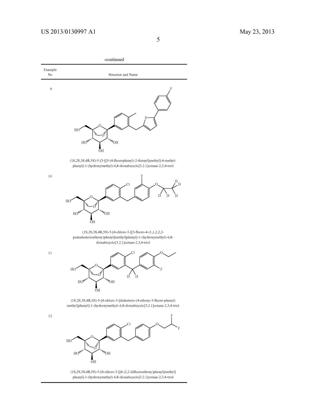 C-ARYL GLUCOSIDE DERIVATIVES, PREPARATION PROCESS AND PHARMACEUTICAL USE     THEREOF - diagram, schematic, and image 06