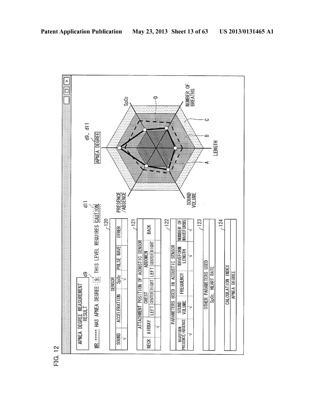 BIOMEASUREMENT DEVICE, BIOMEASUREMENT METHOD, CONTROL PROGRAM FOR A     BIOMEASUREMENT DEVICE, AND RECORDING MEDIUM WITH SAID CONTROL PROGRAM     RECORDED THEREON - diagram, schematic, and image 14