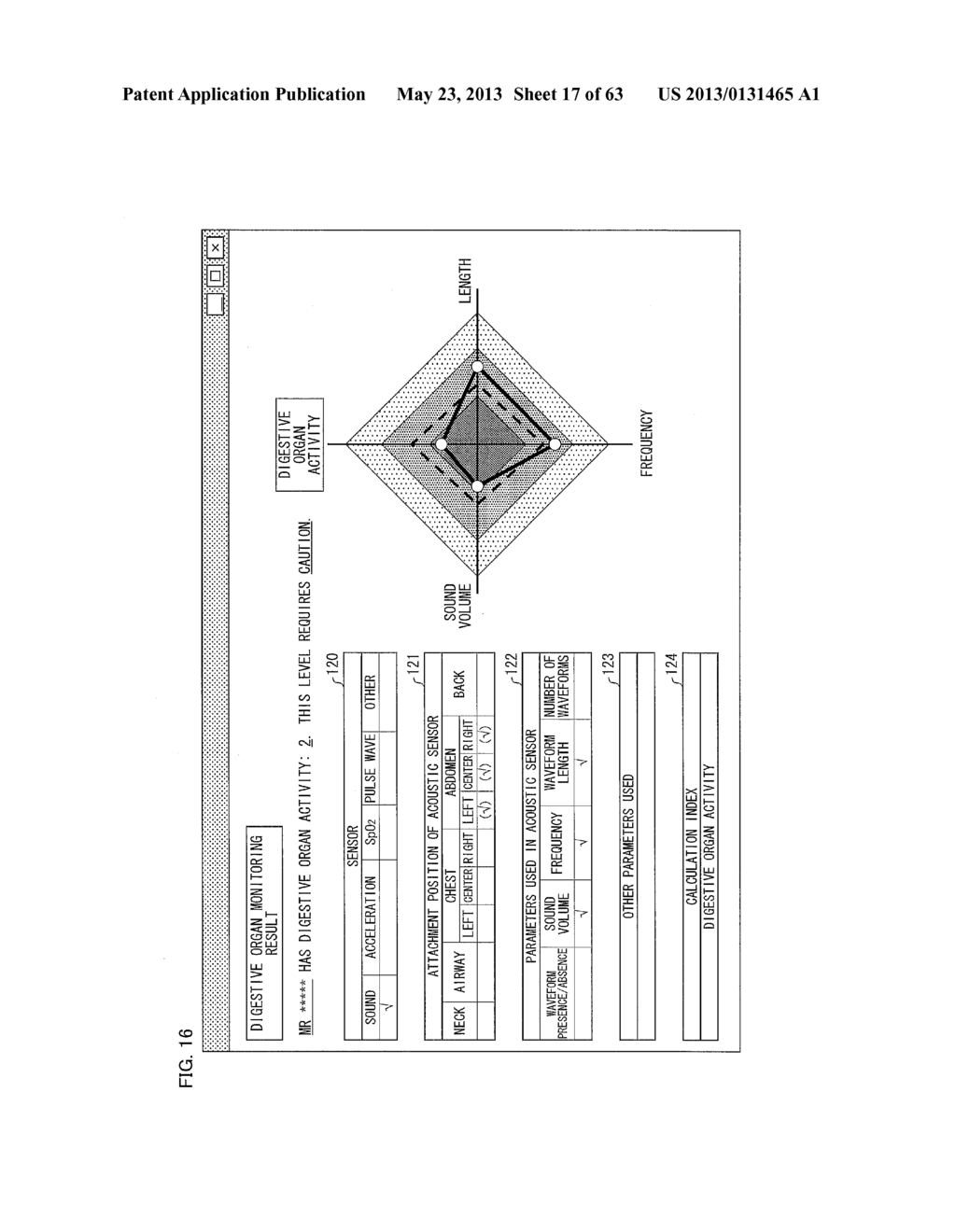 BIOMEASUREMENT DEVICE, BIOMEASUREMENT METHOD, CONTROL PROGRAM FOR A     BIOMEASUREMENT DEVICE, AND RECORDING MEDIUM WITH SAID CONTROL PROGRAM     RECORDED THEREON - diagram, schematic, and image 18