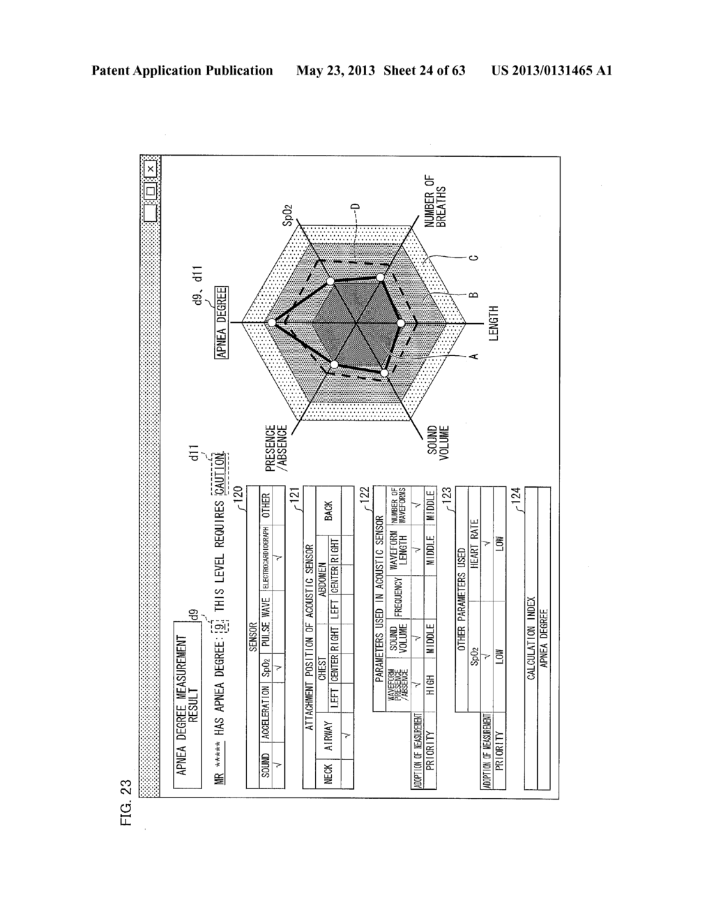 BIOMEASUREMENT DEVICE, BIOMEASUREMENT METHOD, CONTROL PROGRAM FOR A     BIOMEASUREMENT DEVICE, AND RECORDING MEDIUM WITH SAID CONTROL PROGRAM     RECORDED THEREON - diagram, schematic, and image 25